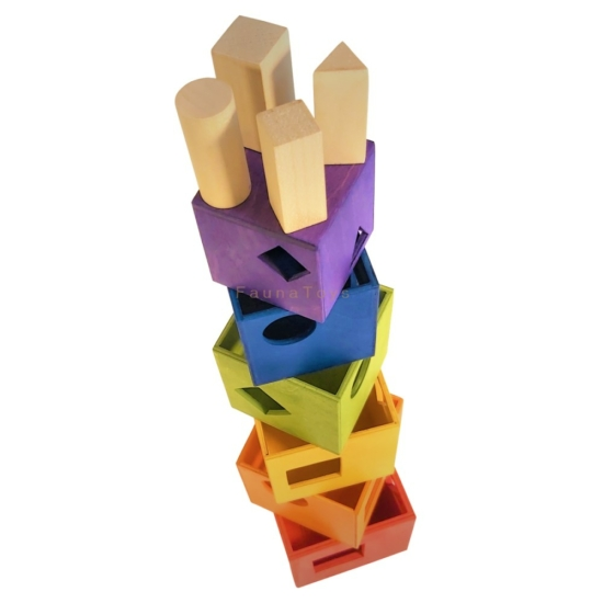 Formakirakó torony - szivárvány