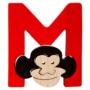 Kép 1/2 - M-majom